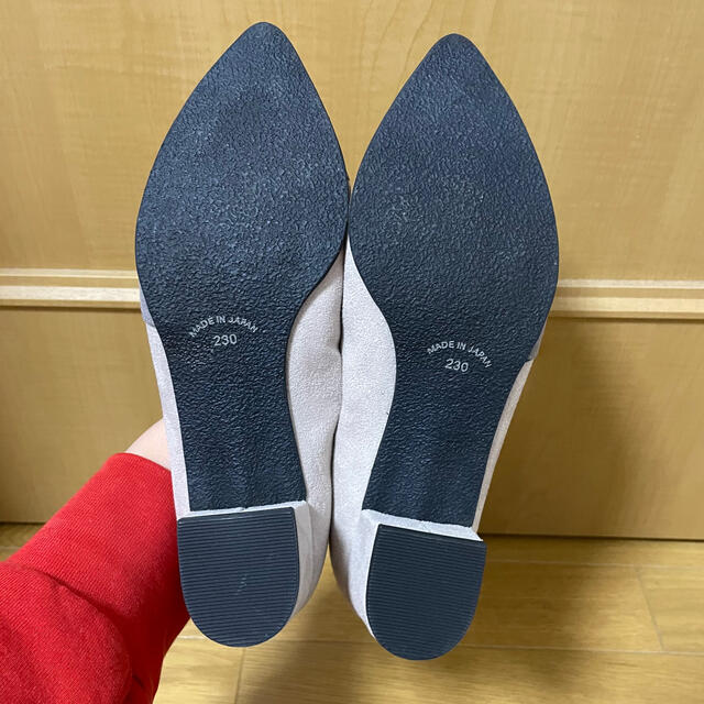 JELLY BEANS(ジェリービーンズ)の【新品】JELLYBEANS パンプス 23cm グレー 半額以下の激安価格! レディースの靴/シューズ(ハイヒール/パンプス)の商品写真