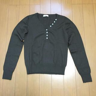 アイアイエムケー(iiMK)のii MK ☆ 長袖 ニット セーター 茶色(ニット/セーター)