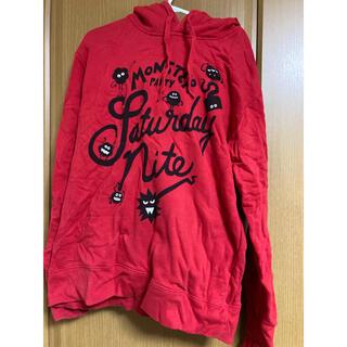 グラニフ(Design Tshirts Store graniph)のグラニフ Mサイズ monster party 赤 パーカー(パーカー)