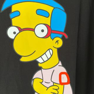 H&M - デザインTシャツ H&M ザ・シンプソンズ ミルハウス ブラック 未使用