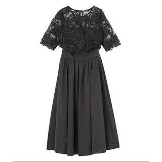 LagunaMoon - ドレス/LADYオーバーレースギャザードレス