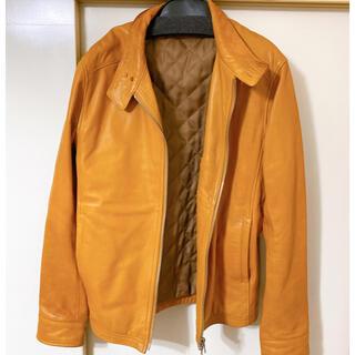 シップス(SHIPS)のyoshi さま専用レザージャケット ライダースジャケット ブラウン(ライダースジャケット)