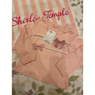 Shirley Temple - はしごレース カットソー90