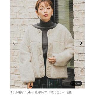 Sonny Label - 今季完売 アーバンリサーチ サニーレーベル ボアブルゾン コート