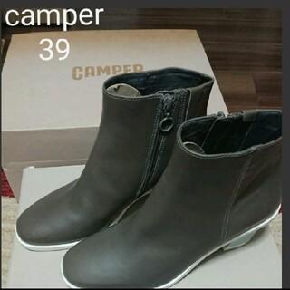 カンペール(CAMPER)のショートブーツ size39 CAMPER(ブーティ)