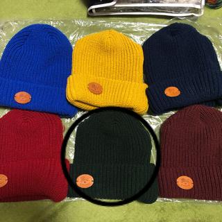 イルビゾンテ(IL BISONTE)のイルビゾンテ ニット帽 画像❷ グリーン 系 正規品 1点の価格 まとめ買い(ニット帽/ビーニー)