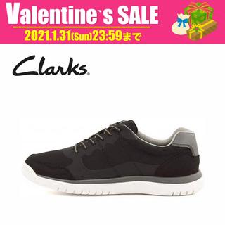 クラークス(Clarks)の【新品】Clarks スニーカー CLOUDSTEPPERS 250BK(スニーカー)
