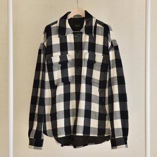 アンユーズド(UNUSED)の木村拓哉 着用 同型同色 UNUSED CPO シャツ サイズ2 キムタク着(ミリタリージャケット)