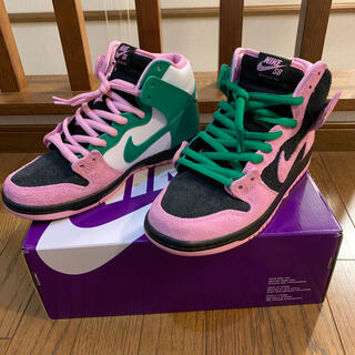 ナイキ(NIKE)のNIKE SB DUNK HIGH INVERT CELTICS (スニーカー)