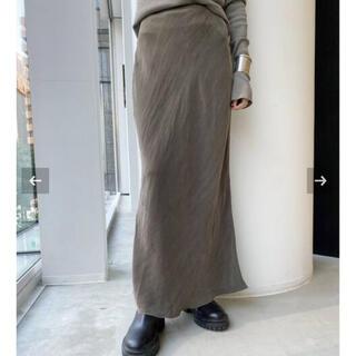 アパルトモンドゥーズィエムクラス(L'Appartement DEUXIEME CLASSE)の【OZMA/オズマ】Cupra Tight Skirt  (ロングスカート)