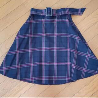 ヴィス(ViS)のV iS チェックスカート(ひざ丈スカート)