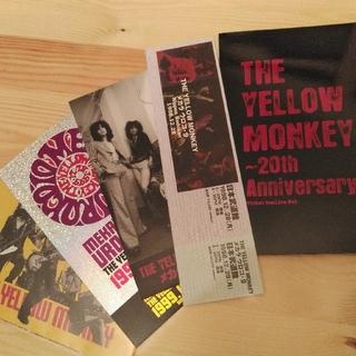 THE YELLOW MONKEY ticket replica set(ミュージシャン)