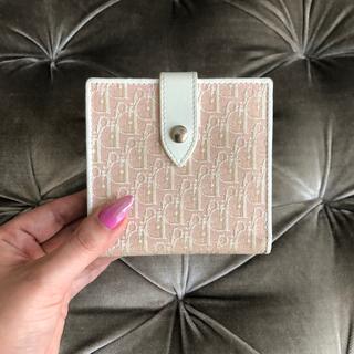 クリスチャンディオール(Christian Dior)のクリスチャンディオール 🎀 トロッター ヴィンテージ 折り財布(財布)