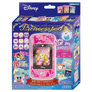 セガ(SEGA)のディズニー キャラクターズ プリンセスポッド スマホトイ 知育 学習 ピンク(知育玩具)