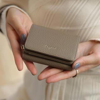 アングリッド(Ungrid)のUngrid 牛革 三つ折りミニ財布(財布)