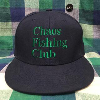 シュプリーム(Supreme)のchaos fishing club 6パネルキャップ ストリート スケート(キャップ)