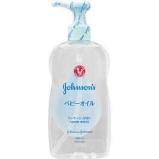 ジョンソンズ(JOHNSONS)のジョンソン ベビーオイル 無香料 300ml(ボディオイル)