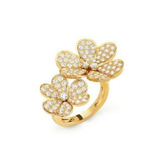 ダイヤモンドリング K18 新品 (リング(指輪))