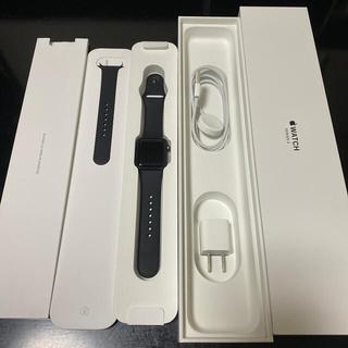 アップル(Apple)のApple Watch 3(38mm)(アップルウォッチ シリーズ3)(腕時計(デジタル))