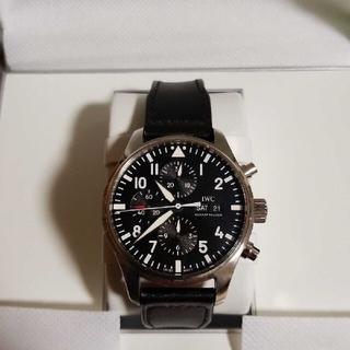 IWC - IWCパイロットウォッチ正規品 クロノグラフ 替えベルト付き メンズ 腕時計
