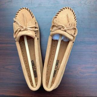 ミネトンカ(Minnetonka)のMINNE TONKA 407T  22.5㎝ミネトンカレディースローファー(ローファー/革靴)