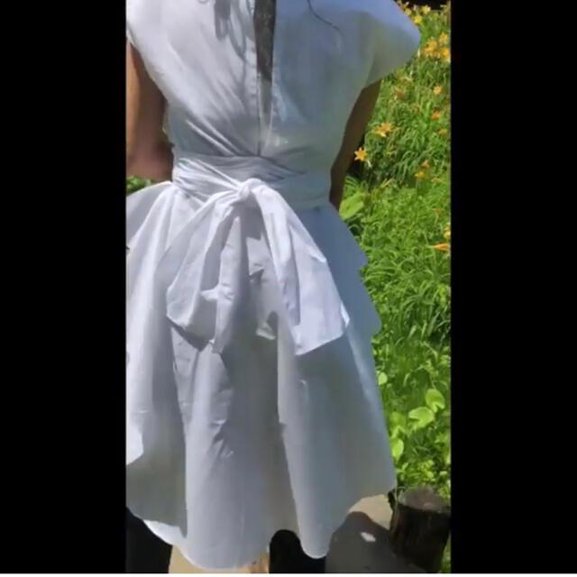 Ameri VINTAGE(アメリヴィンテージ)のaura vintage リボンシャツ レディースのトップス(シャツ/ブラウス(半袖/袖なし))の商品写真