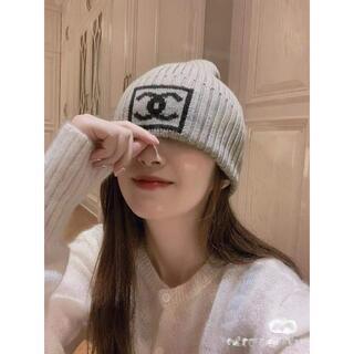 シャネル(CHANEL)の♥CHANEL♥ニット帽子(ニット帽/ビーニー)