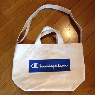 チャンピオン(Champion)の【美品】Champion トートバッグ ショルダーバッグ(ショルダーバッグ)