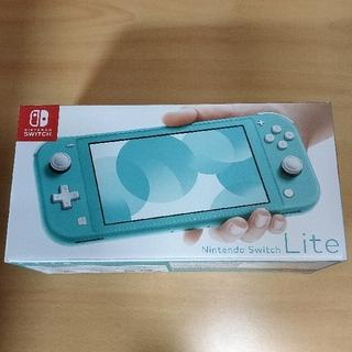 ニンテンドースイッチ(Nintendo Switch)の新品 ※一部傷有 Nintendo Switch Lite ターコイズ(携帯用ゲーム機本体)