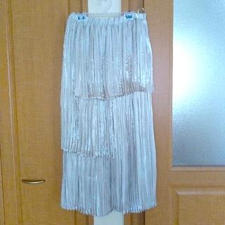 メゾンドフルール(Maison de FLEUR)のMaison de Fleur SALE♡新品プリーツロングスカート(ロングスカート)