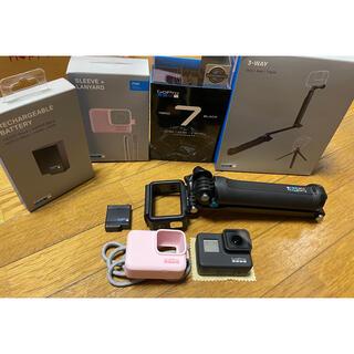 ゴープロ(GoPro)のGoPro HERO7 BLACK +付属品【お値下げしました】(コンパクトデジタルカメラ)