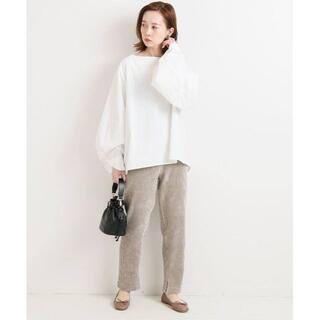 IENA - 新品 イエナ コーデュロイジャージーパンツ 薄いグレー色 40