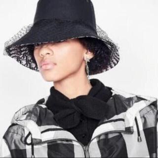 ディオール(Dior)のDIOR ディオール バケハ チュール ハット 帽子 (ハット)