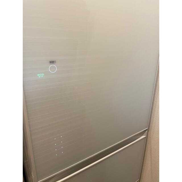 東芝(トウシバ)の【美品】411L 5ドア冷蔵庫  VEGETAホワイト GRR41GXVESW スマホ/家電/カメラの生活家電(冷蔵庫)の商品写真