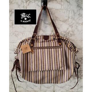 イルビゾンテ(IL BISONTE)のイルビゾンテ IL BISONTE バッグ bag 鞄 キャンパス キャンバス(ハンドバッグ)