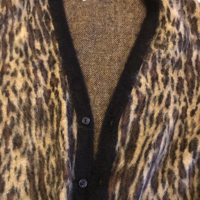 WACKO MARIA(ワコマリア)のワコマリア wacko maria レオパード柄ガーディガン メンズのトップス(カーディガン)の商品写真