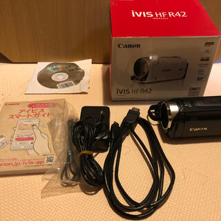 キヤノン(Canon)のCanon IVIS HF R42BK(ビデオカメラ)