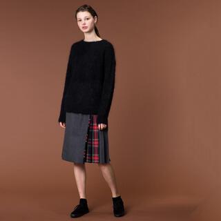 オニール(O'NEILL)のO'NEIL OF DUBLIN コンビネーション キルトスカート(ひざ丈スカート)