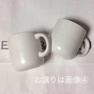 DEAN & DELUCA - 新品 DEAN&DELUCA 限定 コーヒーマグカップ (マットホワイト) ペア