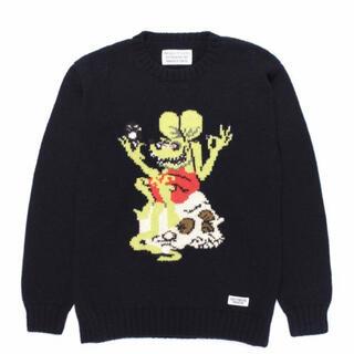 ワコマリア(WACKO MARIA)のSサイズ wackomaria rat fink tim lehi セーター(ニット/セーター)