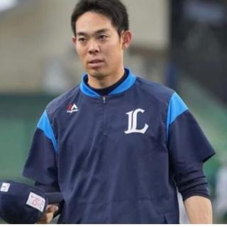 サイタマセイブライオンズ(埼玉西武ライオンズ)の西武ライオンズ マジェスティック トレーニングシャツ半袖 XL(ウェア)