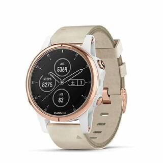 ガーミン(GARMIN)のGARMIN fenix 5S Plus Sapphire RoseGold(腕時計(デジタル))
