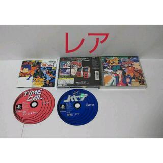 プレイステーション(PlayStation)の≪レアPS≫タイムギャル&忍者ハヤテ(家庭用ゲームソフト)