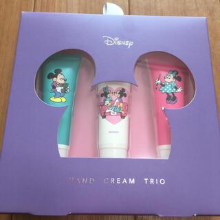 Disney - (新品・未使用)ハンドクリーム3本セット ミッキー&フレンズ