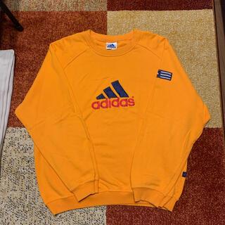 アディダス(adidas)の値下げ!希少!ADIDAS トレーナー スウェット 90s yellow(スウェット)