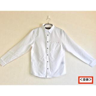 ダブル(DOWBL)の《タグ付き 新品 DOWBL ダブル ホワイト シャツ 46 オシャレ 送込》(シャツ)