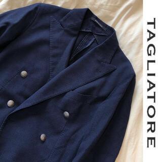 【TAGLIATORE】定価約60%OFF ダブルスーツジャケット46 7R
