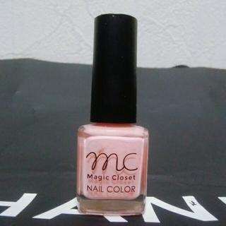 マック(MAC)のMC Magic ClosetNAIL COLORマニキュアピンク6,5ml新品(マニキュア)