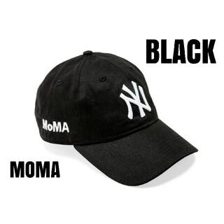 モマ(MOMA)の【新品】 MOMA x Yankees New Era Capブラック(キャップ)