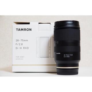TAMRON - 超美品28-75mm F/2.8 Di III RXD (Model A036)
